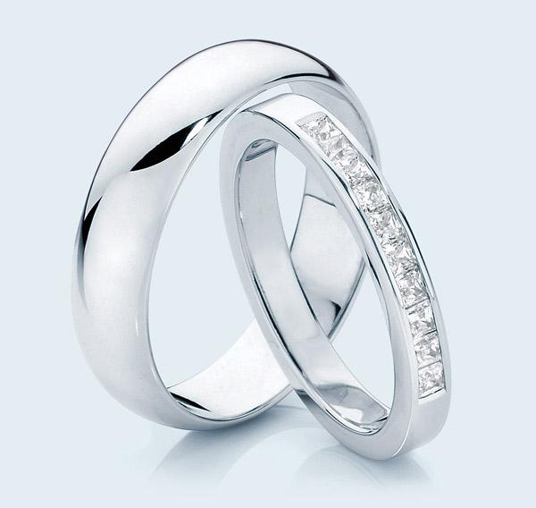 Pair rings for wedding