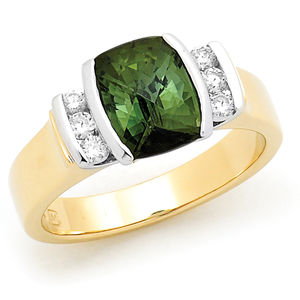 Tourmaline Ring Dress Ring