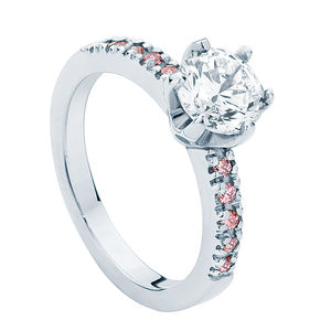 Rose Amore Engagement Ring