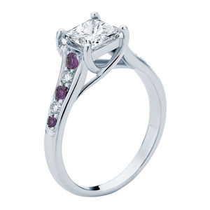 Lilac Susie Engagement Ring