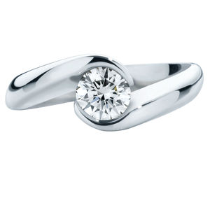 Zephyr (Brilliant) Engagement Ring