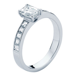 Carre Engagement Ring