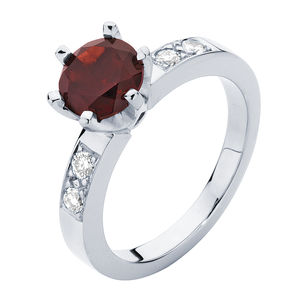 Scarlet Engagement Ring