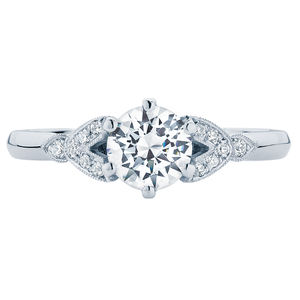 Morning Star Engagement Ring