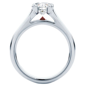 Hour Glass Engagement Ring