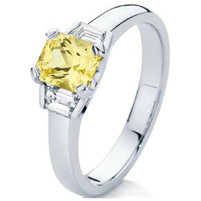 Spphire ring