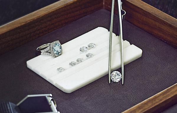 custom made larsen jewellery loose diamonds