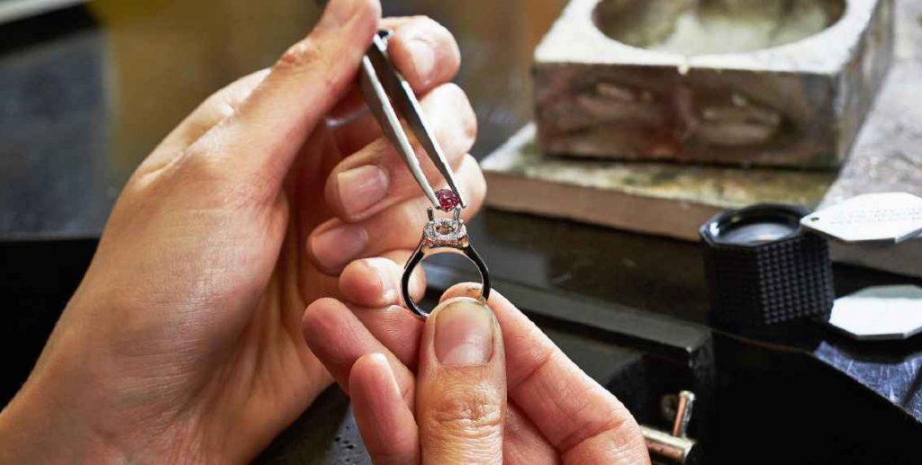 custom made rings setting