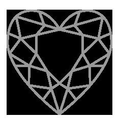 Heart Diamond Sketch