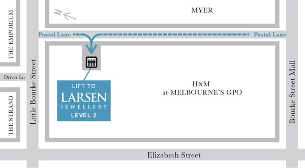 Larsen Jewellery Location