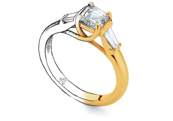 ring design sketch larsen jewellery