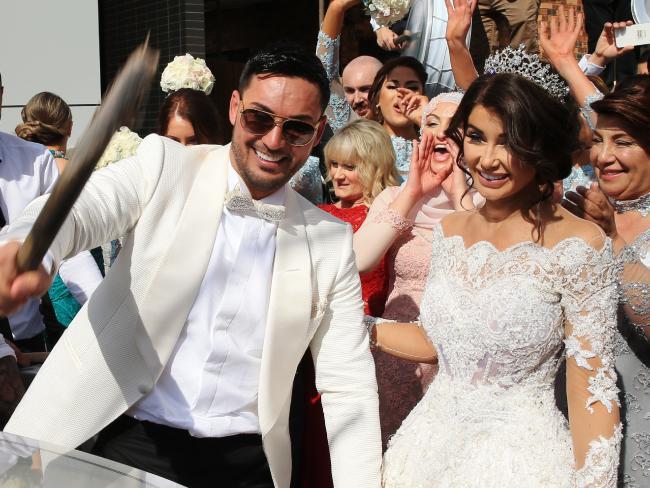 salim mehajer wedding