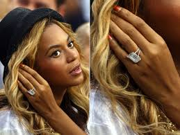 beyonce engagement ring