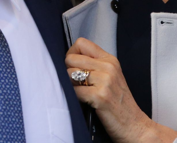 jerry hall wedding ring