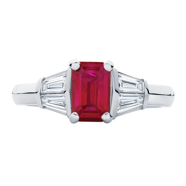 Affection Platinum Engagement Ring