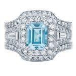 Andromeda Platinum Engagement Ring