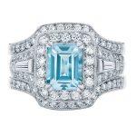 Andromeda White Gold Engagement Ring
