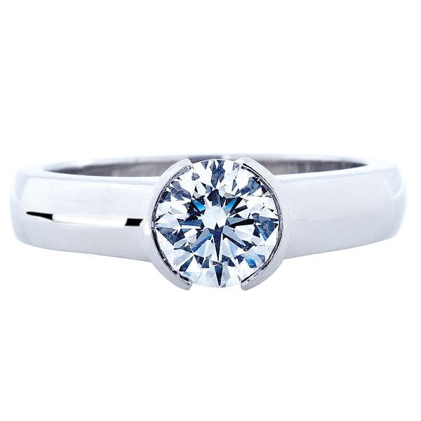 Angel White Gold Engagement Ring