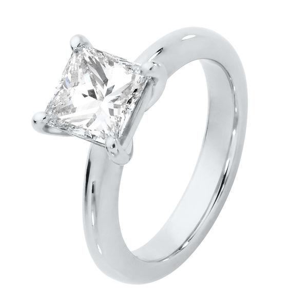 Anika Platinum Engagement Ring