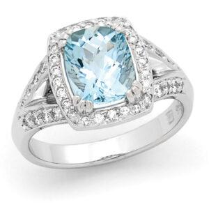 Aquamarine Dress Ring Dress Ring