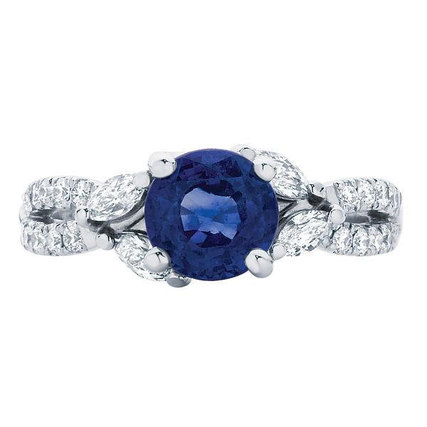 Athena Platinum Engagement Ring