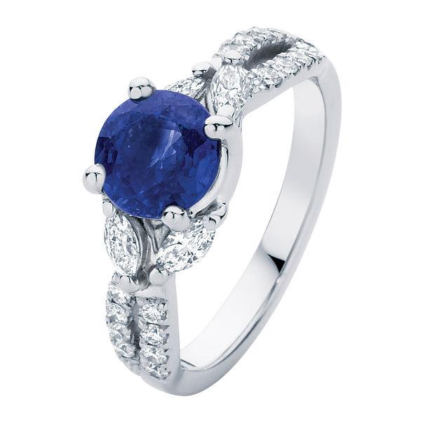 Athena White Gold Engagement Ring