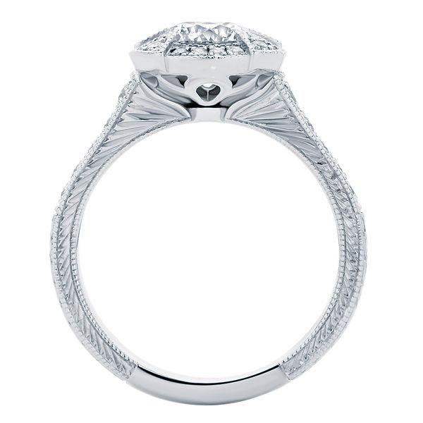 Atlantis Platinum Engagement Ring