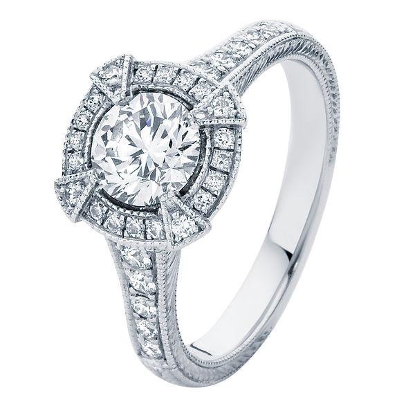 Atlantis White Gold Engagement Ring