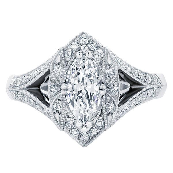 Aura Platinum Engagement Ring