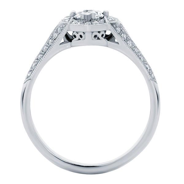 Aura White Gold Engagement Ring