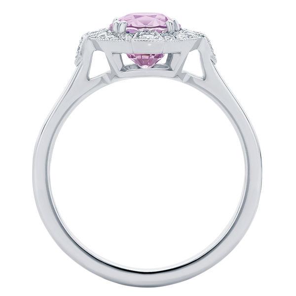 Belle Platinum Engagement Ring