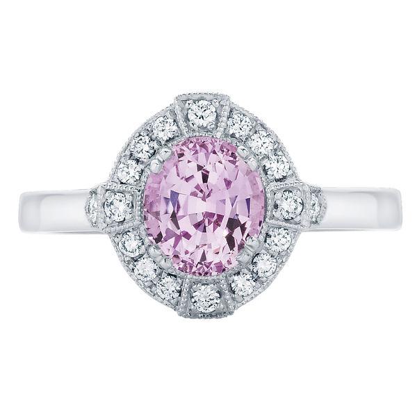 Belle White Gold Engagement Ring