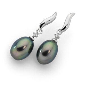 Black Pearl Earings