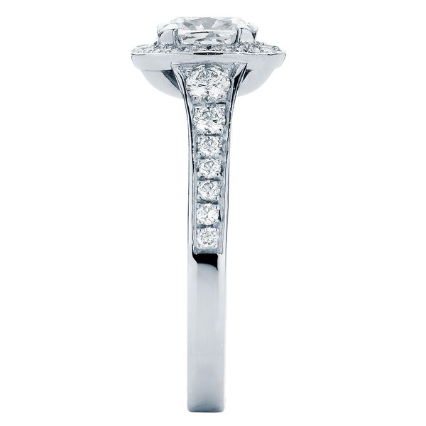 Blanco Platinum Engagement Ring