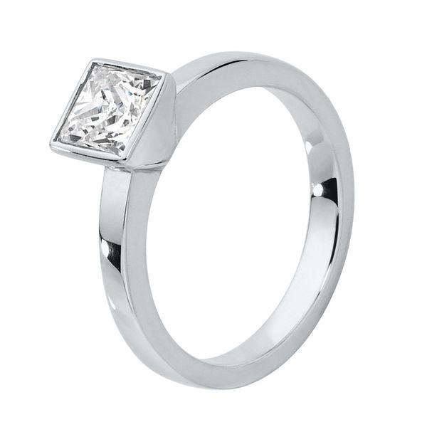 Bliss Platinum Engagement Ring