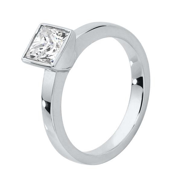 Bliss White Gold Engagement Ring