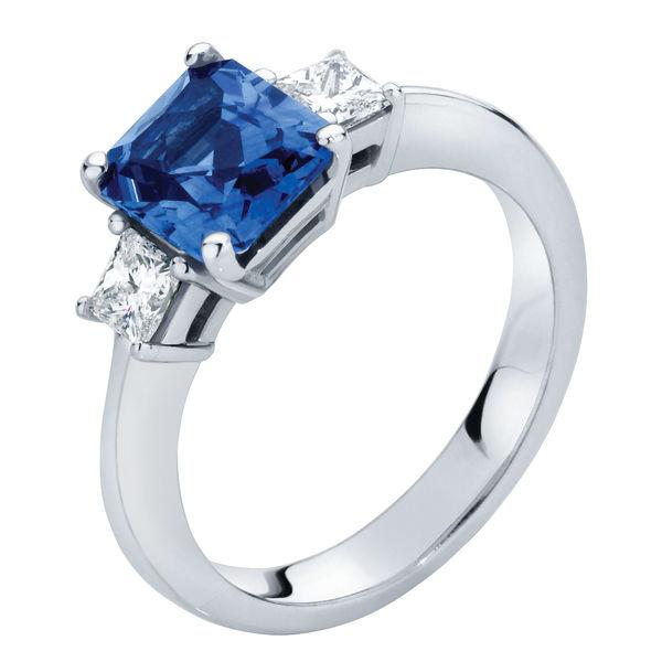 Bluebell Platinum Engagement Ring