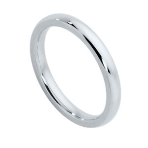 Classical Ladies Platinum Wedding Ring