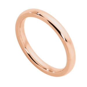 Classical Ladies Rose Gold Wedding Ring