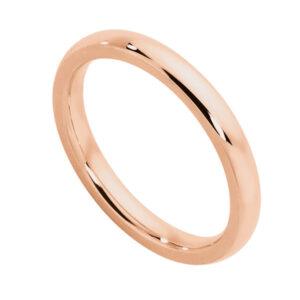 Classical Ladies Rose Gold Wedding Ring