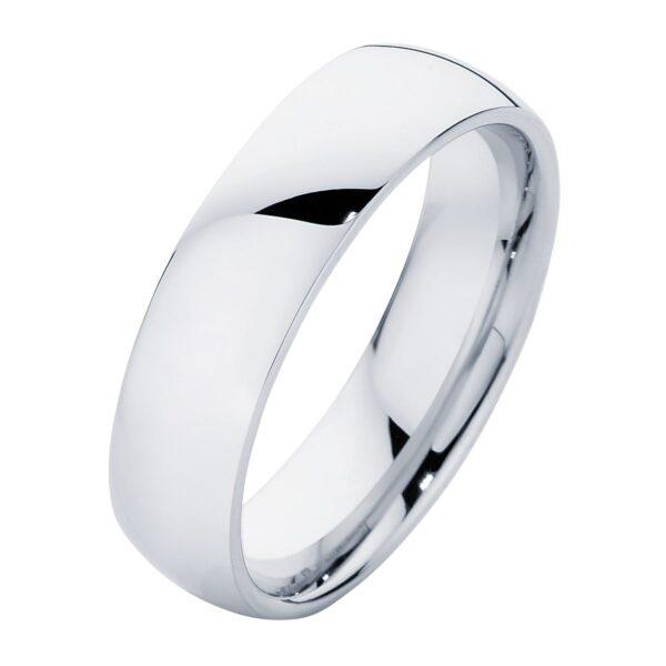Classical Mens Platinum Wedding Ring