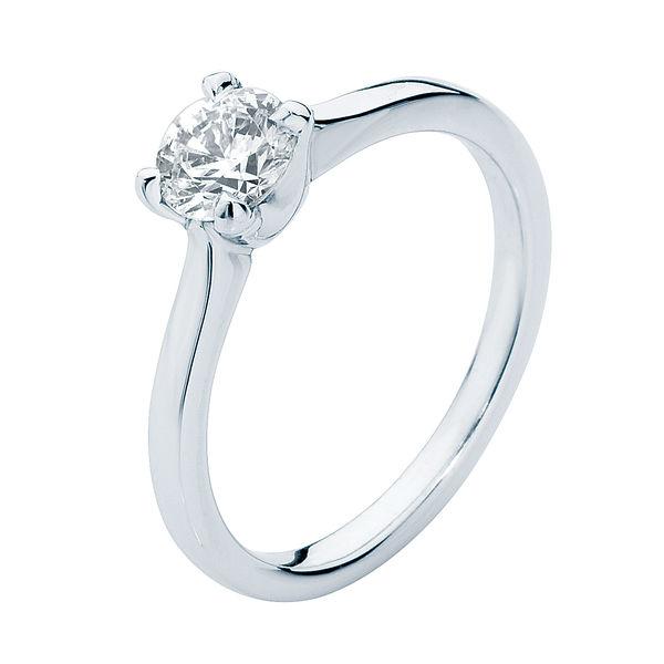 Cupid Platinum Engagement Ring