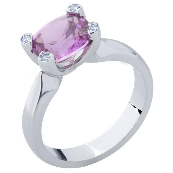 Dazzle White Gold Engagement Ring