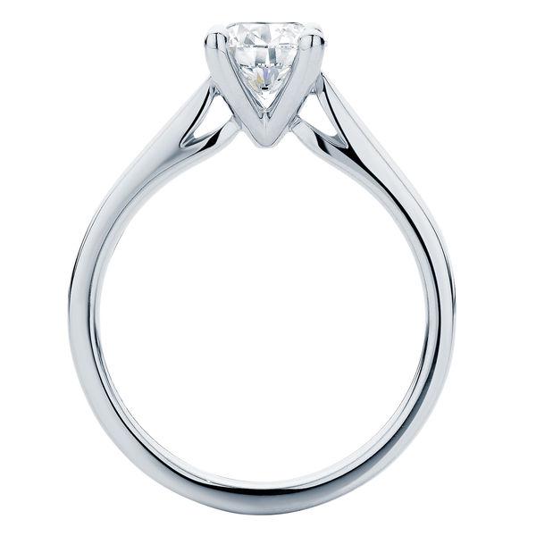Delta White Gold Engagement Ring