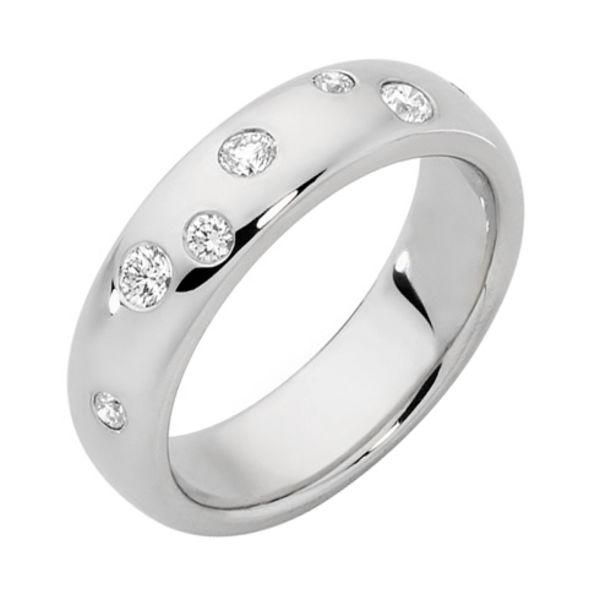 Dew Drop II White Gold Wedding Ring