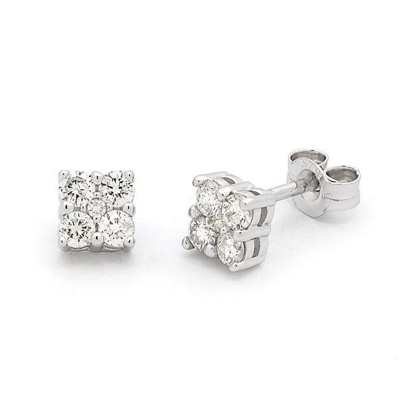 Diamond Clusters Earings