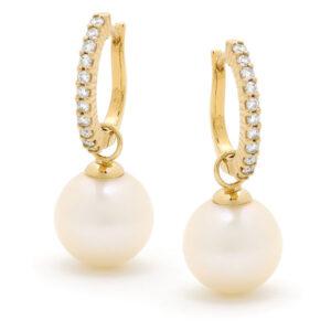 Diamond Pearls III Earings