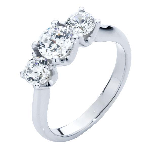 Embrace Trio Platinum Engagement Ring