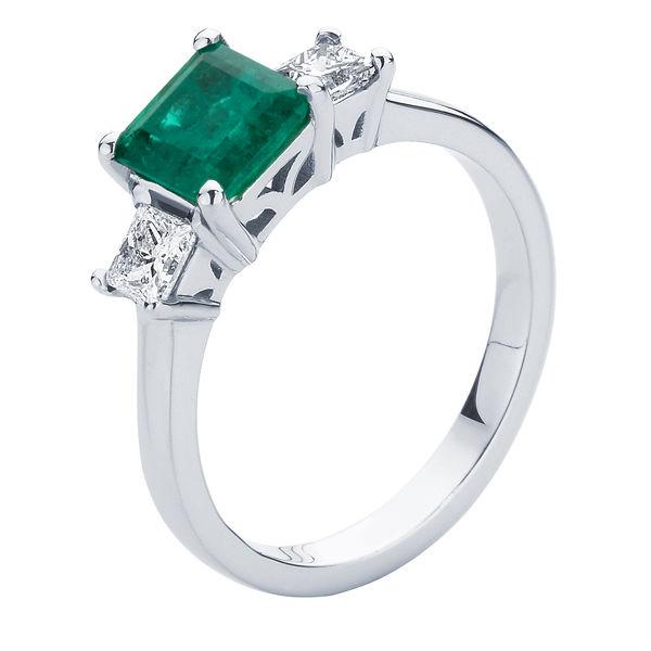 Enchanted Platinum Engagement Ring