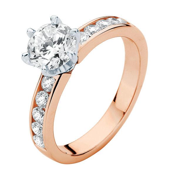 Encore Rose Gold Engagement Ring